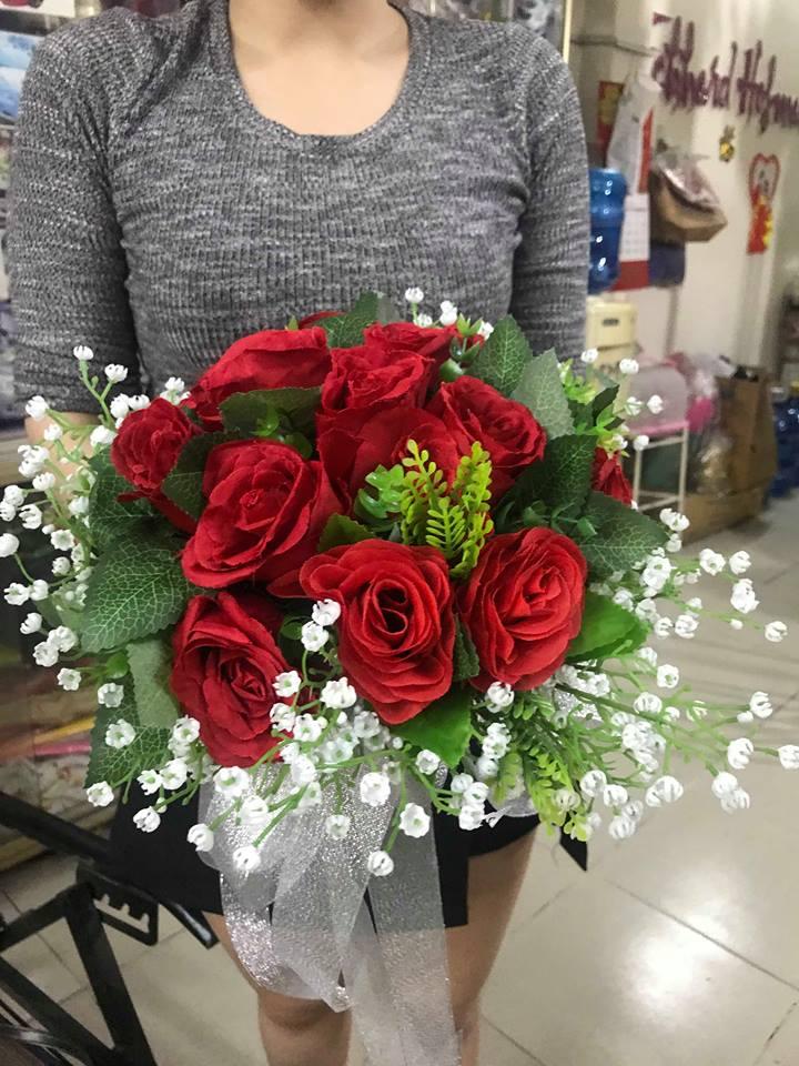 Ket-hoa-cuoi-09 Kết hoa cưới cầm tay cô dâu