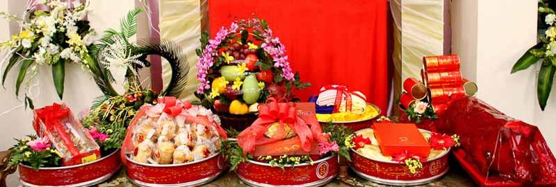 Mam-qua-cuoi-hoi-tron-goi-03 Những lễ vật bắt buộc phải có trong mâm quả cưới hỏi