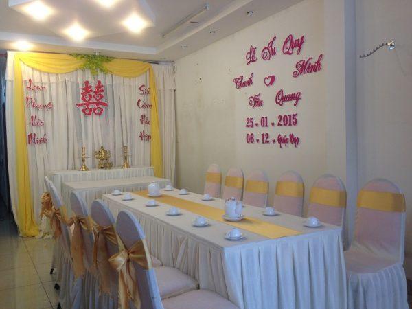 Trang-tri-nha-cuoi-gia-re-03 Dịch vụ trang trí nhà cưới hỏi trọn gói