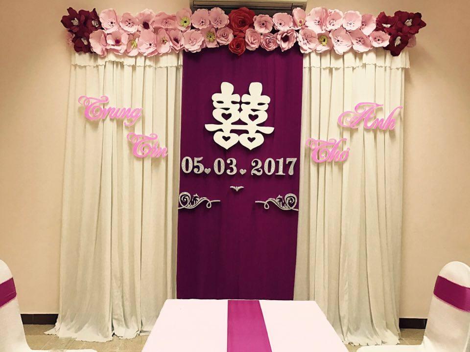 Trang-tri-nha-cuoi-gia-re-06 Dịch vụ trang trí nhà cưới hỏi trọn gói