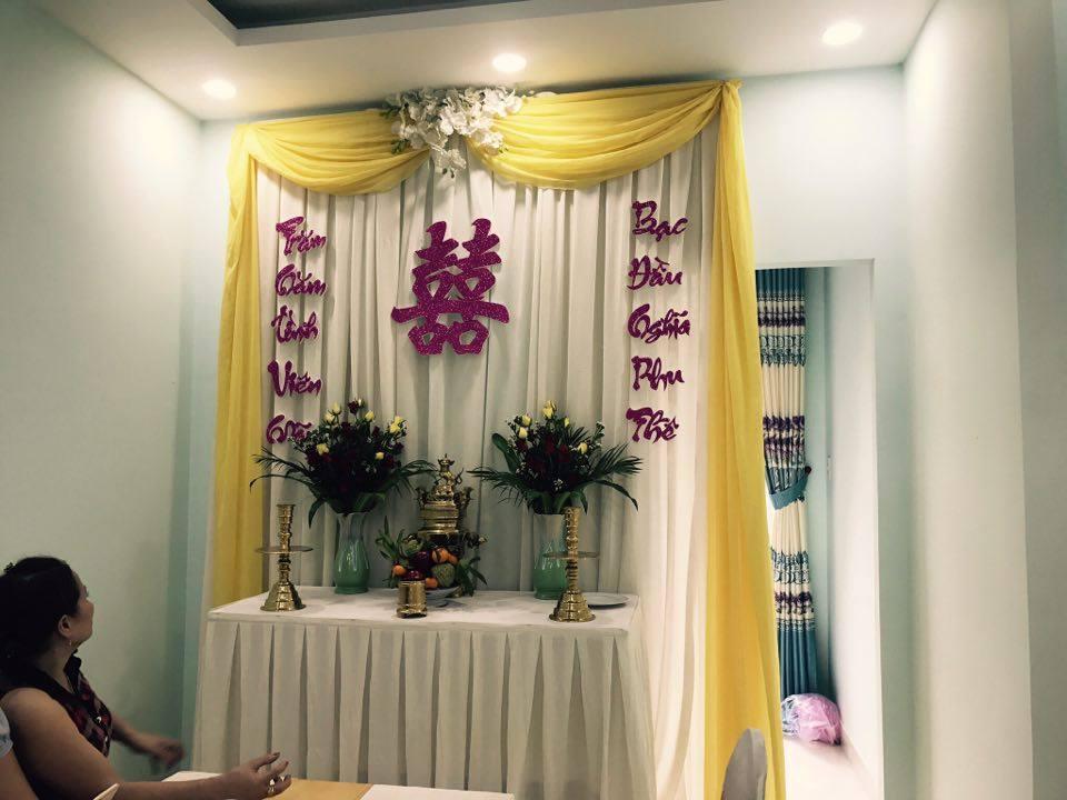Trang-tri-nha-cuoi-gia-re-10 Dịch vụ trang trí nhà cưới hỏi trọn gói