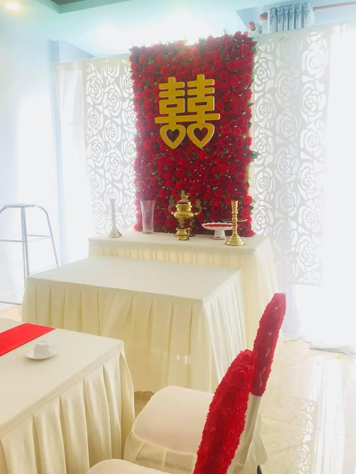 Trang-tri-nha-cuoi-gia-re-14 Dịch vụ trang trí nhà cưới hỏi trọn gói