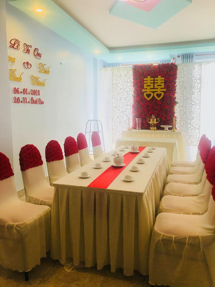 Trang-tri-nha-cuoi-gia-re-15 Dịch vụ trang trí nhà cưới hỏi trọn gói