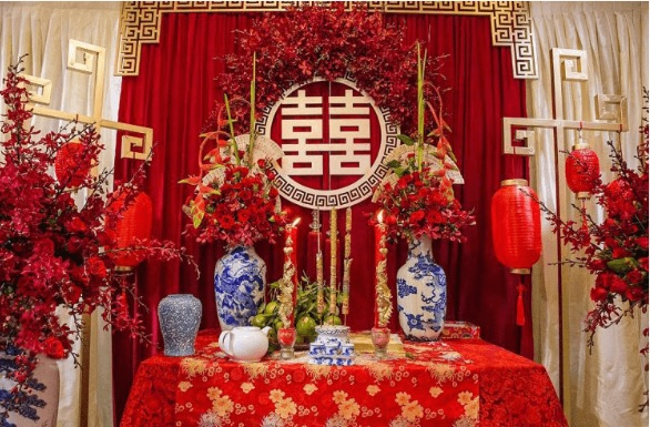 ban-tho-gia-tien-mien-nam Trang trí bàn thờ gia tiên đám cưới đúng cách là như thế nào?